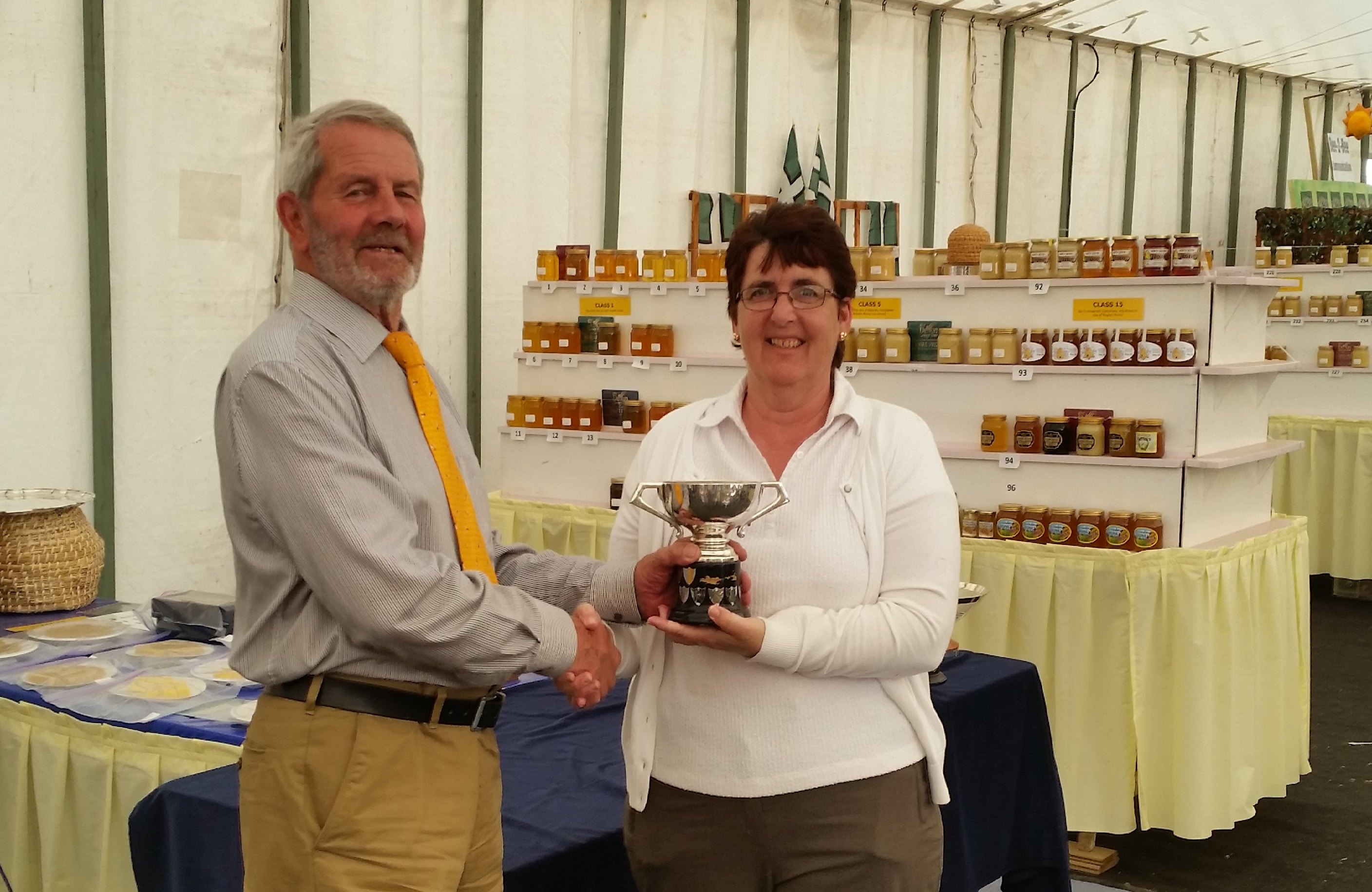 DCS 2015 First Prize Light Honey